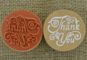 "[73558] Stempel okrągły z napisem ""Thank You"" 30mm"