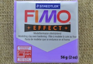 [66604] FIMO Effect transparentna 56g purple- 604