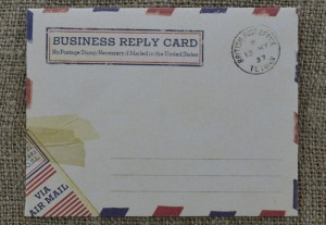 [73608] Koperta BUSINESS REPLY CARD 95*74mm 2szt